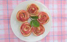 Valentine lãng mạn với tart hoa hồng đẹp mắt