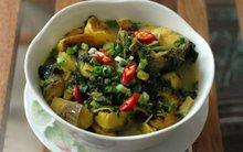 Đậm đà ngon cơm với canh cá nấu chuối xanh