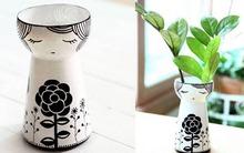 """Biến chai nước cũ thành lọ hoa kiểu Nhật """"xịn"""""""