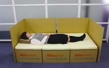 Giường hộp - phát minh độc đáo giúp người Nhật vượt qua động đất