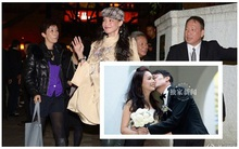 Thư Kỳ nghẹn ngào trong đám cưới bạn trai tin đồn một thời
