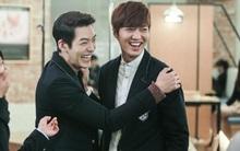 Lee Min Ho và Kim Woo Bin thân thiết như anh em trên phim trường