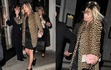 Kate Moss bơ phờ trong ngày sinh nhật lần thứ 40