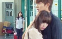 Park Shin Hye lặng nhìn Lee Min Ho ôm cô gái khác