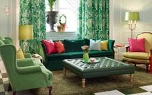 Mang không khí xuân vào nhà với màu xanh ngọc