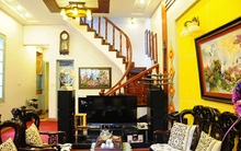 Ngắm ngôi nhà tiện nghi, hiện đại nơi phố cổ Hà Nội chật hẹp