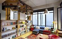 Giá sách xoay - ý tưởng lưu trữ đồ đạc hoàn hảo và tiết kiệm không gian