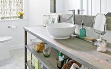 Giúp bạn trang trí nhà tắm theo phong cách đồng quê