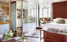 Học lỏm cách bố trí nội thất thông minh của căn hộ 45m² xinh xắn