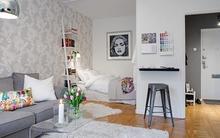 Ngắm căn hộ 37,5 mét vuông được thiết kế năng động, hiện đại