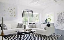 Mẹo bố trí hệ thống ánh sáng đẹp mắt cho phòng khách