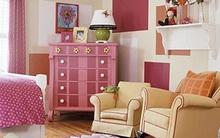 Bài trí phòng cho bé gái cực xinh xắn với màu hồng