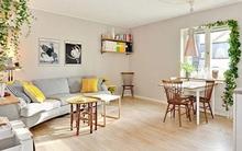 Bài trí nội thất cực chuẩn cho căn hộ 35 mét vuông