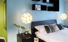 Tư vấn bố trí nội thất cho phòng ngủ 17m² vướng dầm nhà