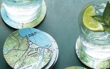 7 cách trang trí nhà cực ấn tượng từ bản đồ cũ