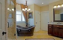 Phòng tắm sáng bừng với 5 mẫu bồn tắm độc đáo