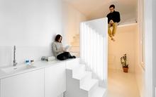 Căn hộ 20m² tuyệt đẹp nhờ phong cách tối giản