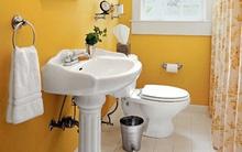 Mẹo bài trí đẹp và độc cho phòng tắm nhỏ