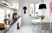 Trắng - Gam màu hot dành cho phòng bếp năm 2014