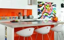 Mê mẩn với những phòng bếp màu sắc rực rỡ