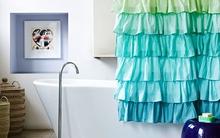 """Phòng tắm """"điệu đà"""" đúng chất spa với giá dưới 1 triệu"""