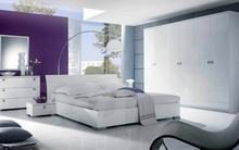 Tư vấn bố trí nội thất phòng ngủ bằng vách thoáng