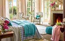 Ngỡ ngàng với phòng ngủ đẹp như bước ra từ truyện cổ tích