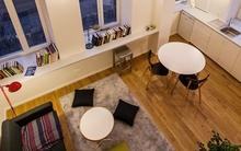 Ngắm căn hộ 24m² hiện đại trong lòng biệt thự cổ