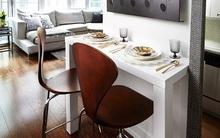 3 mẹo bố trí bàn ăn cực hay cho nhà chật