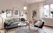 Phòng khách lung linh theo phong cách Bắc Âu (P1)