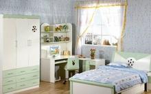 Tư vấn bố trí nội thất phòng ngủ 9m² cho thiếu nữ
