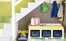 Mẹo lưu trữ thông minh cho tiền sảnh và phòng khách