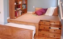 4 ý tưởng tuyệt vời để phòng ngủ dù nhỏ vẫn tiện ích