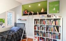 Nới rộng phòng ngủ của trẻ nhờ bài trí nội thất sáng tạo