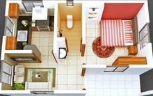 Ngắm 6 thiết kế căn hộ chung cư 1 phòng ngủ tuyệt đẹp