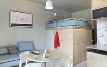 Tư vấn bố trí nội thất cho căn phòng 7,8m² có cả giường và bếp