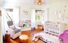 Căn phòng dễ thương của một bà bầu tự tay chuẩn bị cho con