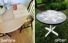 """3 gợi ý """"phù phép"""" bàn cũ thành món đồ nội thất thời trang"""