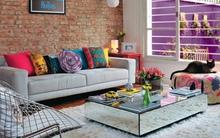 Ngôi nhà đầy cảm hứng nhờ màu sắc và hoạ tiết của nhà thiết kế Brazil