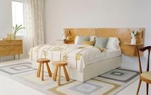 5 thiết kế đầu giường kiêm kệ lưu trữ đẹp và tiện dụng