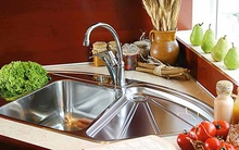 5 mẫu bồn rửa bát đẹp và tiện cho bếp chật