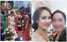Nàng dâu được mẹ chồng trao vương miện trị giá 100 cây vàng trong đám cưới