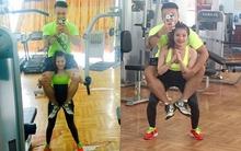 """Cặp đôi nàng kiến - chàng voi """"nhà người ta"""" khiến chị em lại hừng hực quyết tâm đến phòng gym"""