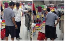 Hai cha con nhường nhau chiếc quần và chuyện