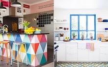 Những căn bếp màu sắc khiến bạn yêu từ cái nhìn đầu tiên