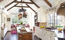 Những căn bếp theo phong cách đồng quê khiến bà nội trợ mê mẩn