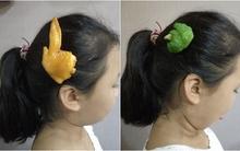 Trào lưu kì dị biến mái tóc thành nơi bày đồ ăn
