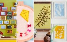 Trang trí nhà tưng bừng với 4 cách làm tranh đơn giản