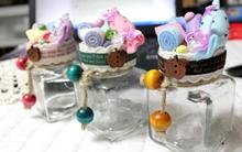 Xinh xinh chiếc lọ đựng kẹo đáng yêu trang trí Tết này