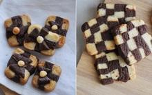 Cách làm bánh quy hình hộp quà giòn thơm đẹp mắt